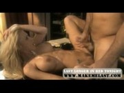 Katie Morgan and Alexis Love Lesbian Fucking