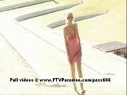 Christine ftv girls, adorable teen babe public flashing