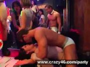 Sex orgy with male stripper
