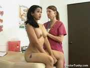 MIKA TAN GETS PHYICAL IN THE NUDE AND PAP SMEAR