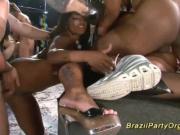 brazilian wild anal party fuck orgy