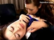 Asian Girl Getting Her Pussy Licked Rubbed By Her Boss On The Desk In The Office