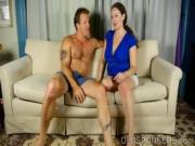 Busty mature broad enjoys a hot fuck and a sticky facial cumshot