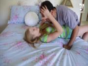 Axxxteca Hot blonde teen is fucked by her babysitter