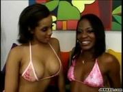 Hot Lesbian Scene With Horny Alicia And Jasmine