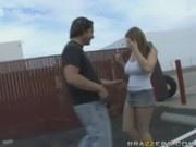 Street fucking with Cassandra Calogera - Asses In Public