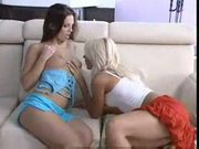 Hot babes making out