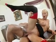 Ass-to-mouth With A Blonde Secretary