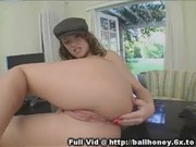 Ball Honey Plays With Pussy