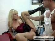 Hot Blond Milf In Boots Gets Assfucked