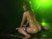 Aya Fukunaga in Micro Bikini