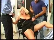 Wife bbw cuckold with 2 men