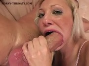 Filling Her Mouth