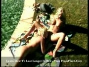Hillary - Pool, palms and sweet blond lesbians3