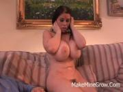 Big Tits Babe Daphne Rosen Fucked On Her Big Boobs
