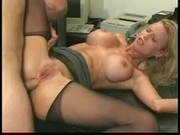 Blonde Slut Gets Her Pussy Licked And Fucked