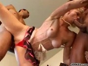 Hayley Rivers Gets Fucked By Two Hard Cocks - Handle My Wife