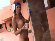 Robyn truelove pov in baseball uniform