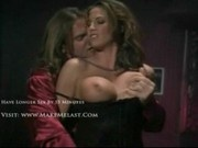 Sondra Hall jizzed on the boobs