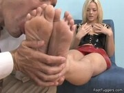 Alexis - Gets Her Dirty Heels Licked