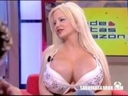 Sabrina Sabrok celebrity biggest breast in the world, interviews