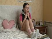 Hot chick homemade sex tape scene 1