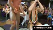 Babes suck off cfnm stripper