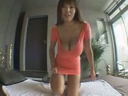 Asian oils her fat tits!!