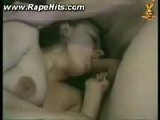 Amateur girl raped and forced to suck cock