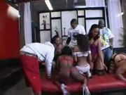 Doggymasster presents black azz orgy 2 scene 1 pt1