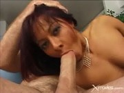 Sandra Romain Fucks Her Toys And A Cock