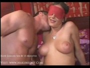Venus gets blindfolded and fucked hard