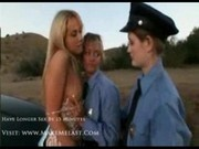 Ruby Blonde Teen Gets Pulled Over2