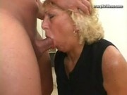 Older mature blonde milf