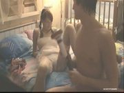 Horny young wife with boy