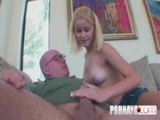 A Teen Fucks And Sucks An Old Man