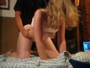 blonde amateur teen gets used hard