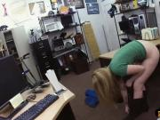 Blondie pounded by pervert pawn keeper at the pawnshop