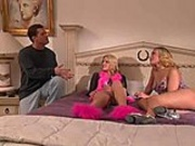Hannah and Kate's hot threesome scene