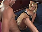 Creampied sexy ass blonde