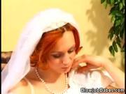 Redhead Wife Performs Blowjob