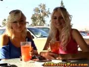 Hot Blonde Lesbians Eating Pussy