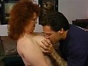 Jenny Joyce rides his cock