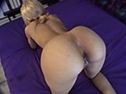 Crystal Jones gags on the cock