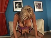 Busty mommy Kat Kleevage