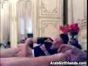 Amateur Arab girlfriend gets pussy fingerbanged while making out with horny boyfriend