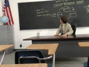Schoolgirl needs to pass her class and seduces her teacher