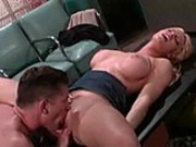 Melissa West fucks in the office