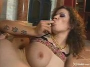 Slutty skank loves getting her asshole filled w...