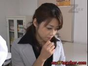 Maki Houjo lovely Japanese milf